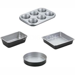 AMB-4 - Chef's Classic Nonstick Bakeware 4-Piece Starter Set
