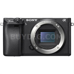 ILCE-6300 a6300 4K Mirrorless Camera Body w/ APS-C Sensor