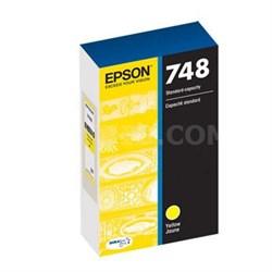 DURABrite Pro Standard Capacity Yellow Ink Cartridge - T748420