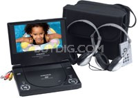 "D1718  Portable 7"" DVD Player"
