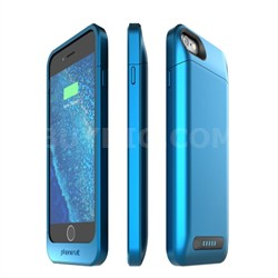 Elite Pro Battery Case for iPhone 6 and 6s, Blue