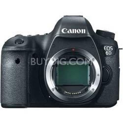 EOS 6D 20.2 MP CMOS Digital Full Frame SLR Camera (Body Only)