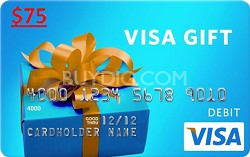 $75 Gift Card (Allow 1-2 weeks for delivery)
