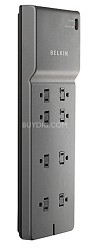 8 OUTLET HOME/OFFICE SURGE PROTECTOR WITH TELEPHONE PROTECTION