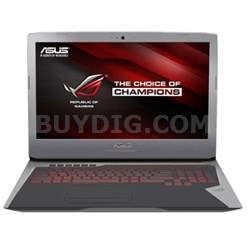 "G752VY-RH71 Intel Core i7-6700HQ 17.3"" Laptop"