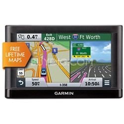 "nuvi 56LM Essential Series GPS Navigator with Lifetime Maps 5"" Display"