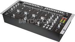 """MM-2400 19"""" Professional 4-Channel Stereo Mixer"""