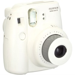 Instax 8 Color Instax Mini 8 Instant Camera - White