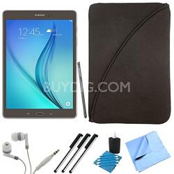 Galaxy Tab A SM-P550NZAAXAR 9.7-Inch W-Fi Tablet (Titanium with S-Pen) Bundle