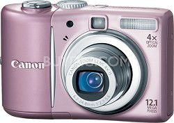 PowerShot A1100 12MP Digital Camera (Pink) (REFURBISHED)