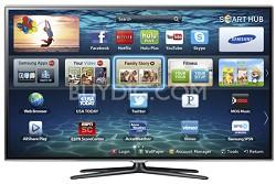 """UN46ES6600 46"""" 1080p 120hz 3D Micro Dimming Slim LED Smart HDTV w/ 2 Glasses"""