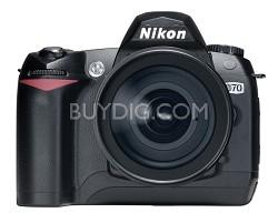 D70 Digital SLR Camera Body- USA Warranty