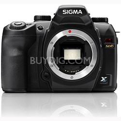 SD15 Digital SLR Camera 14MP X3 Foveon Direct Image Sensor