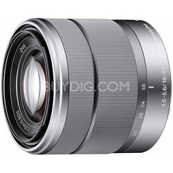 SEL1855 - 18-55mm f/3.5-5.6 Zoom E-mount Lens       OPEN BOX