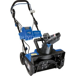 Ion Cordless Single Stage Snow Blower with Rechargeable Ecosharp 40-volt Lithium