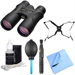 16003 PROSTAFF 7S 10x42 All-Terrain Binoculars Explorer Bundle