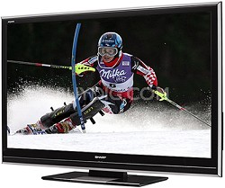 "LC-46D85U - AQUOS 46"" High-definition 1080p 120Hz LCD TV"