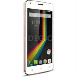 "LINK A5 Unlocked Dual Core Smartphone with 5"" Display (White) A5WH - OPEN BOX"