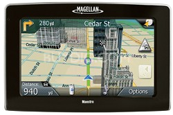 Maestro 4350 Portable Car GPS Navigation System