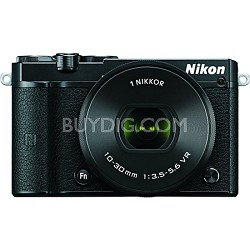 1 J5 Digital Camera w/ NIKKOR 10-30mm f/3.5-5.6 PD Zoom Lens - Black