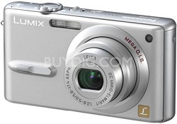 """DMC-FX9 (Silver) Lumix  6 MP Digital Camera w/ 2.5"""" LCD - REFURBISHED"""