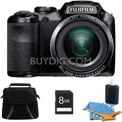 FinePix S4800 16 MP 3-inch LCD Digital Camera 8GB Kit