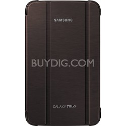 Galaxy Tab 3 8-inch Book Cover - Brown