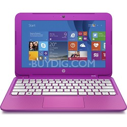 "Stream 11.6"" Laptop w/ Free Office 365 Personal for 1 Year - Orchid Magenta"