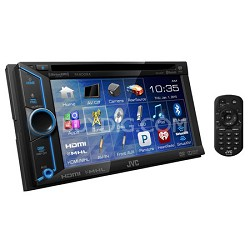 """KW-V31BT DVD/CD/USB Bluetooth Receiver with 6.1"""" WVGA Touch Panel Monitor"""