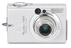 Powershot S500 Digital ELPH Camera