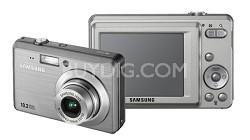 "SL102 10MP 2.5"" LCD Digital Camera (Silver)"