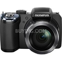 SP-820UZ 14 Megapixel 40x Zoom Digital Camera (Black)