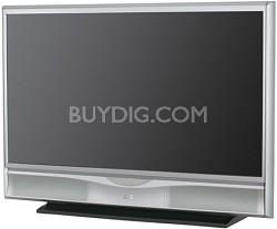 "HD-52FA97 - HD-ILA 52"" High-definition 1080p LCoS Rear Projection TV (Silver)"