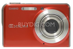 "EX-S770 7 MP with 3X Optical Zoom and 2.8"" Super Bright  LCD (Red)"