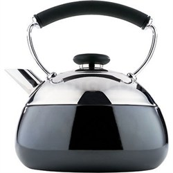 Fusion 2-Quart Polished Stainless Steel Teakettle (2502-8307) - OPEN BOX