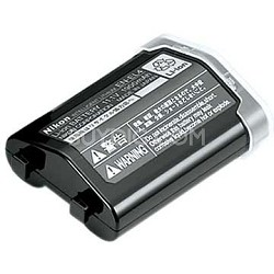 EN-EL4a Lithium Rechargeable Battery For Nikon D3 and D300 - 2500mAh