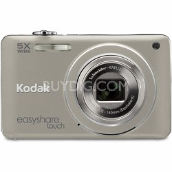 "EasyShare Touch M5370 16MP 5x Zoom 3"" Touchscreen LCD Silver Digital Camera"