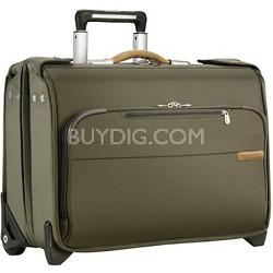 Baseline Carry-on Wheeled Garment Bag - Olive (U174-7)