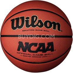 "NCAA Official Solution Game Ball 28.5"" Basketball"