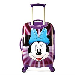 """67612-4756 21"""" Hardside Spinner - Minnie Mouse Face"""