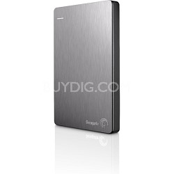 Backup Plus 500GB Portable External Hard Drive with Mobile Device Backup Silver