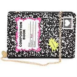 Notebook Shoulder Bag - Black