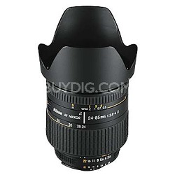 24-85mm F/2.8-4D AF Zoom-Nikkor  Lens, With Nikon 5-Year USA Warranty