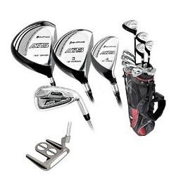 ATS MRH Full Golf Club Set: w/Stand Bag & Putter