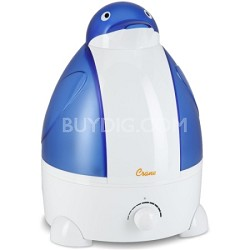 Adorable Ultrasonic 1 Gallon Cool Mist Humidifiers 32 Watts - Penguin - OPEN BOX
