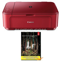 PIXMA MG3520 Wireless Inkjet All-In-One Photo Printer - Red w/ Photoshop