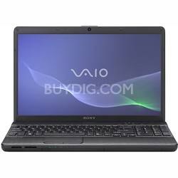 VAIO VPCEH24FX - 15.5 Inch Laptop Core i3-2330M Processor (Black)