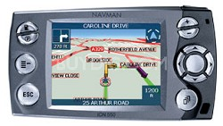 iCN 550 in-car/handheld Advanced GPS Navigation Receiver