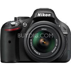 D5200 24.1 MP DSLR Camera with 18-55mm VR Lens