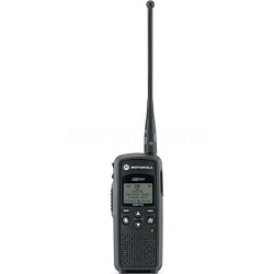 DTR550 Digital On-Site Two-Way Radio - Black